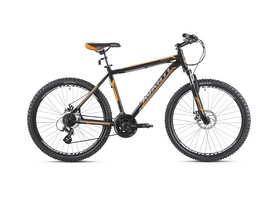 """Велосипед горный Avanti Smart 650B 27,5"""" 2016 черно-оранжевый - 21"""""""