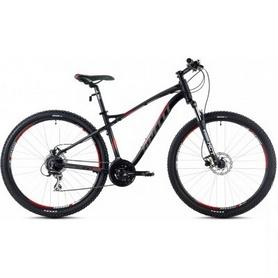 Фото 1 к товару Велосипед горный Spelli SX-5200 29ER 2016 черный с красным матовый - 17