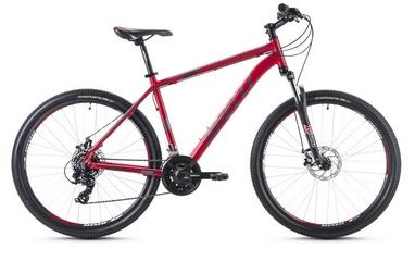 Велосипед горный Spelli SX-2500 29ER 2016 красно-серебристый матовый - 19