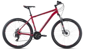Фото 1 к товару Велосипед горный Spelli SX-2500 29ER 2016 красно-серебристый матовый - 19