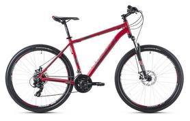 Фото 1 к товару Велосипед горный Spelli SX-2500 29ER 2016 красно-серебристый матовый - 21