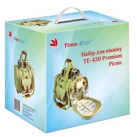 Фото 2 к товару Набор для пикника на 4 персоны TE-430 Premium Picnic 30 л Украина