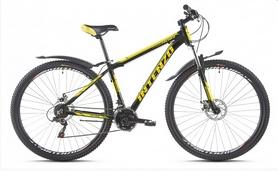 """Велосипед горный Intenzo Premier 29"""" черно-желтый матовый рама 17"""""""