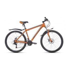 """Велосипед горный Intenzo Premier 26"""" черно-оранжевый матовый рама 15"""""""