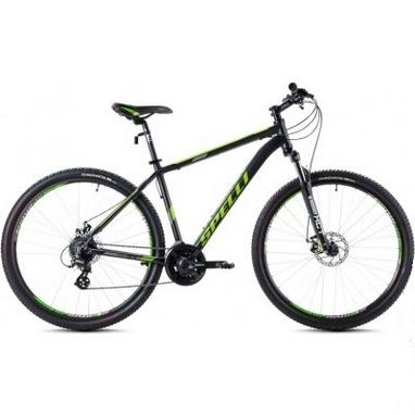 Велосипед горный Spelli SX-3500 29ER 2016 черно-зеленый - 17