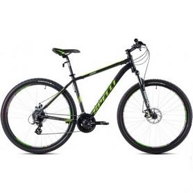 Фото 1 к товару Велосипед горный Spelli SX-3500 29ER 2016 черно-зеленый - 17