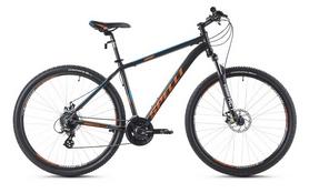 Фото 1 к товару Велосипед горный Spelli SX-3500 29ER 2016 черно-оранжевый матовый - 17