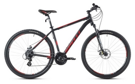 Фото 1 к товару Велосипед горный Spelli SX-3500 29ER 2016 черно-красный матовый - 17