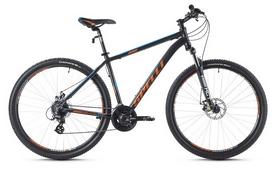 Фото 1 к товару Велосипед горный Spelli SX-3500 29ER 2016 черно-оранжевый матовый - 19