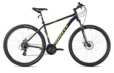 Велосипед горный Spelli SX-3500 29ER 2016 черно-зеленый - 21