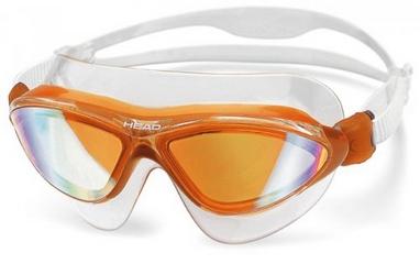 Очки для плавания с зеркальным покрытием Head Jagyar LSR+ оранжевые