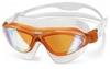Очки для плавания с зеркальным покрытием Head Jagyar LSR+ оранжевые - фото 1