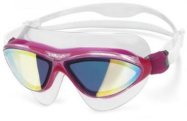 Очки для плавания с зеркальным покрытием Head Jagyar LSR + розовые