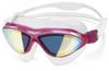 Очки для плавания с зеркальным покрытием Head Jagyar LSR + розовые - фото 1