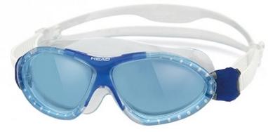 Очки для плавания со стандартным покрытием Head Monster Junior прозрачно-синие