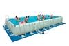Бассейн каркасный Intex Ultra Frame 54990/28372 (975х488х132 см) с фильтрующим насосом и лестницей - фото 1