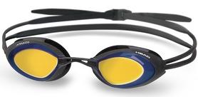 Фото 1 к товару Очки для плавания с зеркальным покрытием Head Stealth LSR+ черно-синие