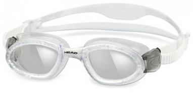 Очки для плавания со стандартным покрытием Head SuperFlex+ прозрачно-дымчатые