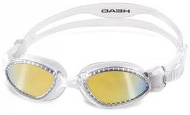 Фото 1 к товару Очки для плавания с зеркальным покрытием Head SuperFlex Mid прозрачно-дымчатые
