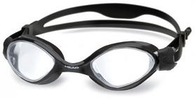 Очки для плавания со стандартным покрытием Head Tiger LSR+ черно-прозрачные