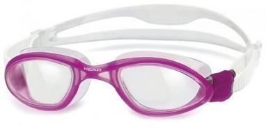Очки для плавания со стандартным покрытием Head Tiger LSR+ прозрачно-розовые