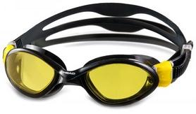 Фото 1 к товару Очки для плавания Head Tiger Mid LSR черно-желтые