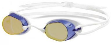 Очки для плавания с зеркальным покрытием Head Ultimate LSR+ бело-синие