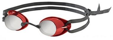 Очки для плавания с зеркальным покрытием Head Ultimate LSR+ красные