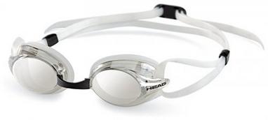 Очки для плавания с зеркальным покрытием Head Venom прозрачные