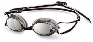Очки для плавания с зеркальным покрытием Head Venom серые