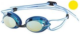 Фото 1 к товару Очки для плавания с зеркальным покрытием Head Venom желтые