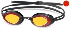 Фото 1 к товару Очки для плавания с зеркальным покрытием Head Stealth LSR+ красные