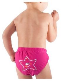 Фото 3 к товару Плавки детские Head Aqua Nappy Baby розовые