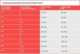 Фото 2 к товару Плавки мужские Head Solid Splice - Lycra 7 красные