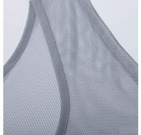 Фото 4 к товару Накидка (манишка) тренировочная Adidas TRG BIB 14 D84856 серая