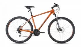 """Велосипед горный Spelli SX-5000 650B 27,5"""" 2016 оранжево-серебристый матовый - 21"""""""