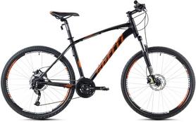 """Велосипед горный Spelli SX-5700 26"""" 2016 черно-оранжевый матовый - 17"""""""