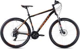 """Велосипед горный Spelli SX-2500 26"""" 2016 черно-оранжевый матовый - 17"""""""