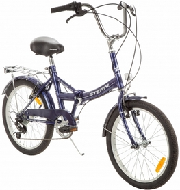 Фото 2 к товару Велосипед складной Stern Travel Multi 2016 синий - 20