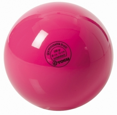 Мяч гимнастический TOGU Standart (300 гр) розовый