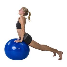 Фото 6 к товару Мяч для фитнеса (фитбол) Tunturi Gymball 65 см синий