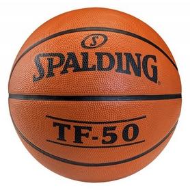 Мяч баскетбольный резиновый №6 Spalding TF-50