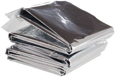 Одеяло фольгированное Outventure IE665602 (140x210 см) серебряное