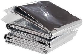Фото 1 к товару Одеяло фольгированное Outventure IE665602 (140x210 см) серебряное