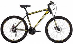 "Велосипед горный Stern Motion 2.0 2016 черно-желтый - 16"""