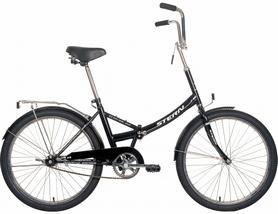 "Велосипед складной Stern Travel Multi 2016 черный - 24"""