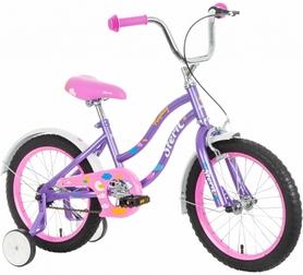 Фото 2 к товару Велосипед детский Stern Fantasy 2016 фиолетово-розовый - 16