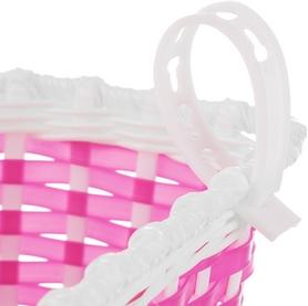 Фото 3 к товару Корзина велосипедная детская Cyclotech Bicycle basket CBBK-1PN pink