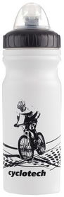 Фляга велосипедная Cyclotech Water bottle CBOT-1W white