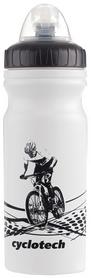 Фото 1 к товару Фляга велосипедная Cyclotech Water bottle CBOT-1W white